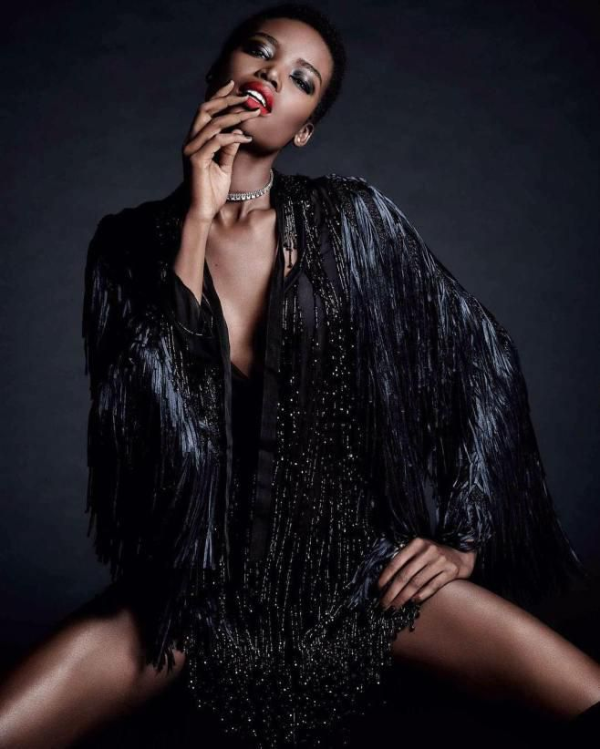 """An Angolan Black Model """"Maria Borges"""" Who Made it to Forbes"""