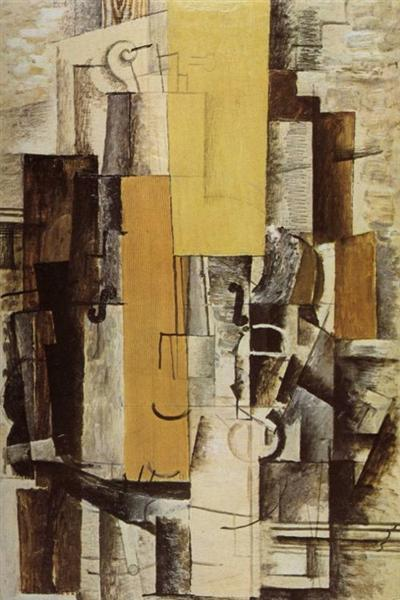 """""""Violin and Glass"""" by Georges Braque: How cubist painters see the world?"""